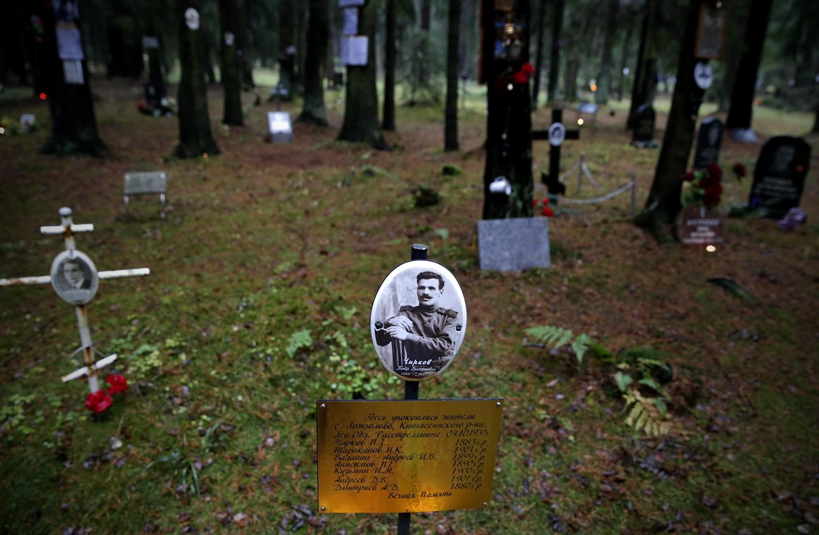 Žrtve Stalinovih čist (foto: epa)
