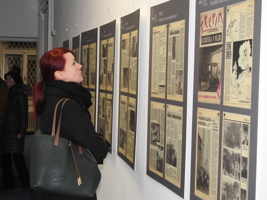 Obiskovalka muzeja (Foto: R.F.K.)