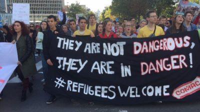 Foto: EPA. Bo promigrantski politiki vendarle odklenkalo?