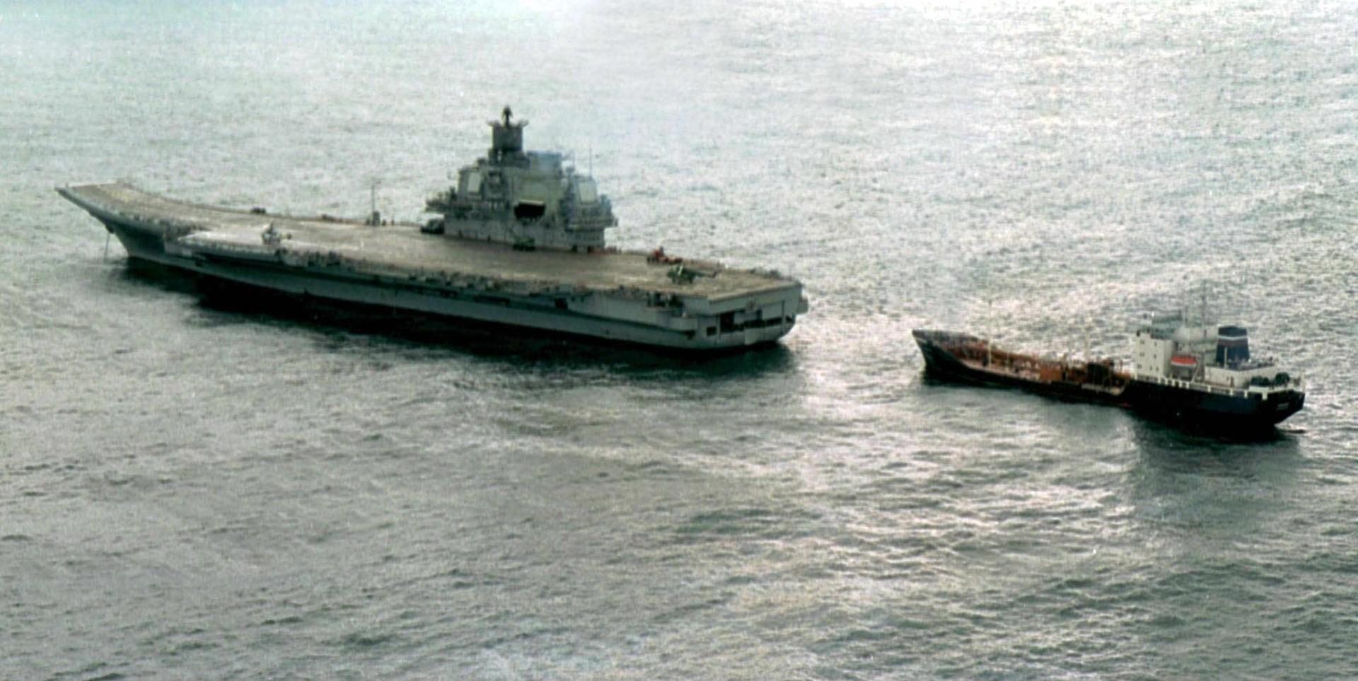 Letalonosilka Admiral Kuznecov