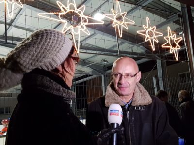 Andraž Žitnik, vodja svetniške skupine SDS Tržič (foto: Nova24TV).