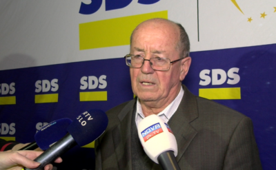 Predsednik Sveta SDS dr. France Cukjati (foto: Nova24TV).