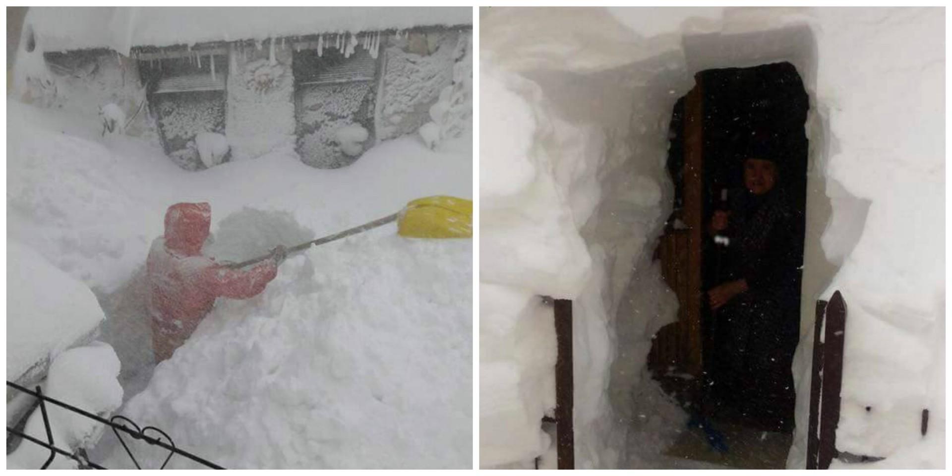 Večdnevno sneženje je osrednji del Italije povsem odrezal od sveta.