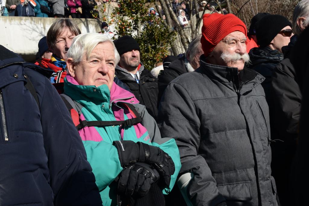 Častilca krvi in pobojev Milan Kučan ter Janez Stanovnik (foto: Urban Cerjak)