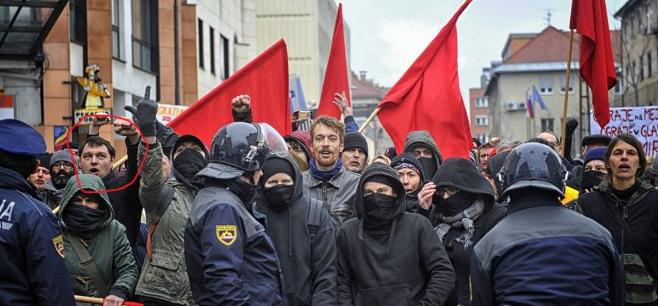 Kordiš je znan levičarski ekstremist. (Foto: Nova24TV)