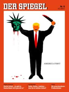 Naslovnica tednika Der Spiegel. Foto: printscreen