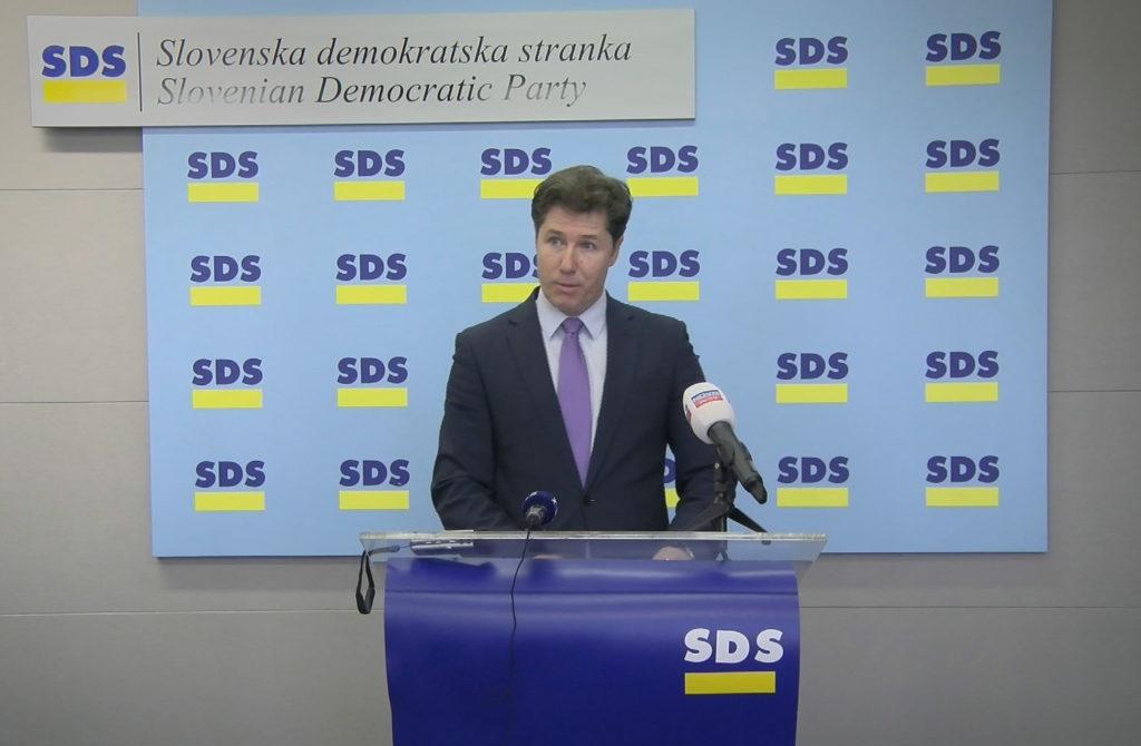 Franc Breznik, poslanec SDS. Foto: Nova24TV