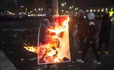Protesti v Romuniji. Foto: epa