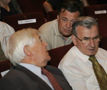 Tvorca globoke države. Zoran Jankovič in Milan Kučan. (foto: STA)