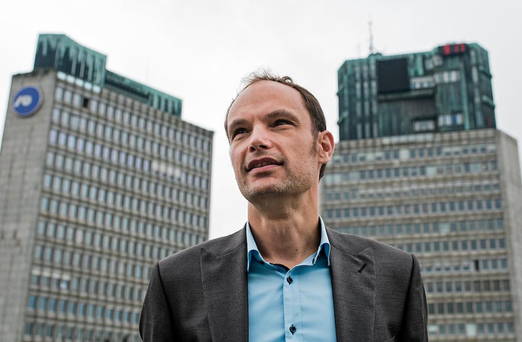 Anže Logar, poslanec SDS in raziskovalec slovenske 5 milijardne bančne luknje (Foto: Demokracija)