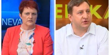 Jelka Godec, poslanka SDS in Blaž Mrevlje raziskujeta korupcijo v slovenskem zdravstvenem sistemu. (Foto: Nova24TV)
