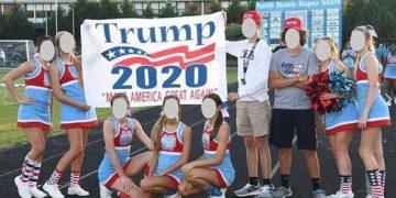 Donald trump transparent