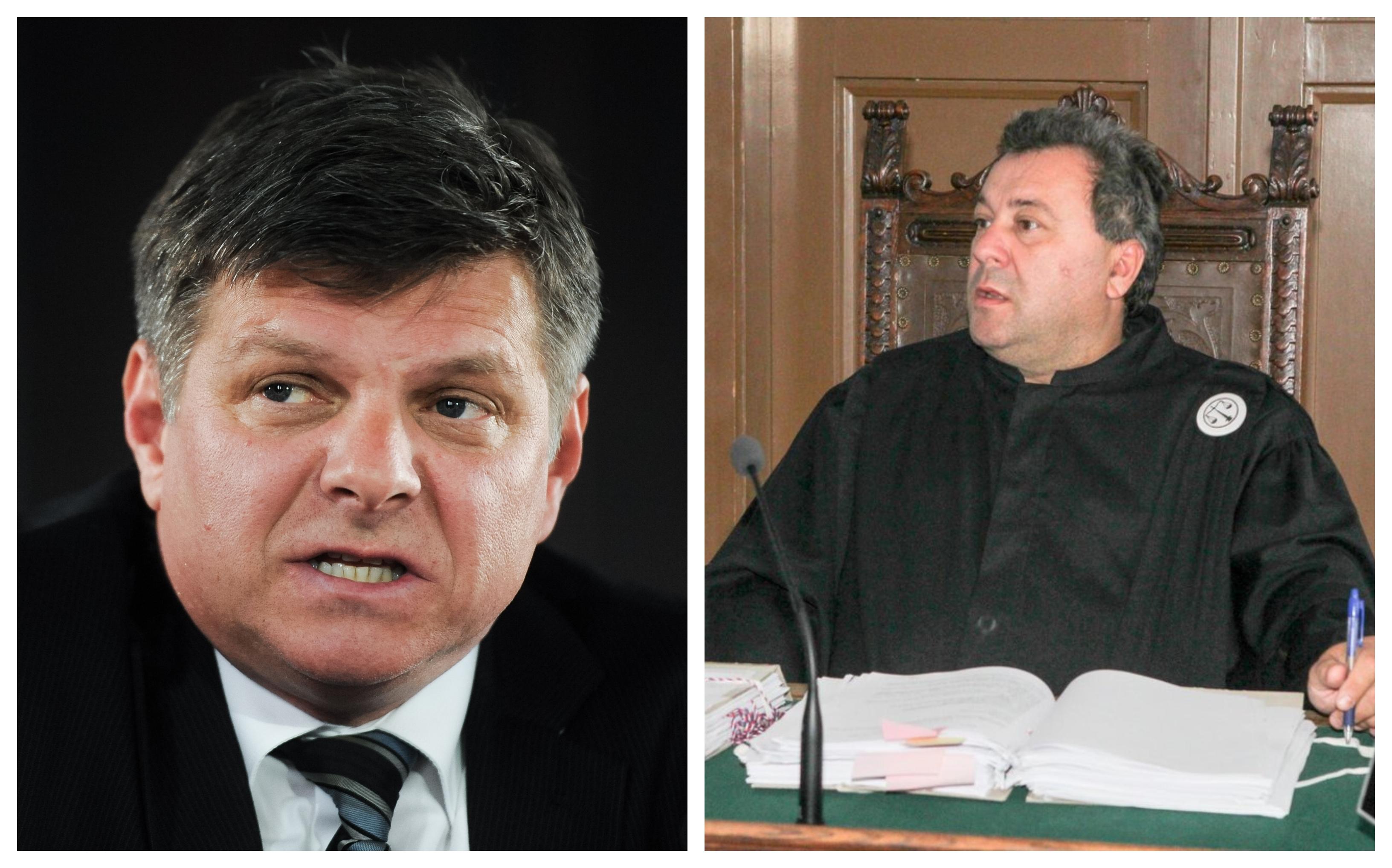 Ali bo predsednik okrožnega sodišča v Ljubljani, Marjan Pogačnik s svojimi nastavljenimi sodniki sabotiral oprostilno sodbo sodnika Zvjezdana Radonjića. (foto STA/Twiter)