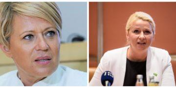 Aleksandra Pivec in Klavdija Perger, glavni protoganistki afere SRIPT (foto: STA)