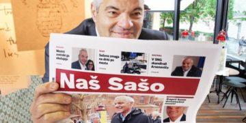 Po vzoru ljubljanskega župana Zorana Jankovića si je mariborski župan Saša Arsenovič izmislil svojo propagandno občinsko glasilo. (Foto: FB)