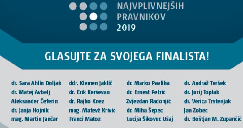 Vseh 20 kandidatov za letošnji izbor v letu 2019. (foto Twitter)