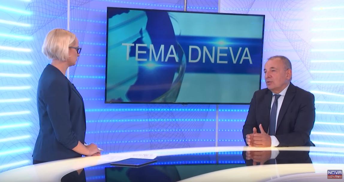 Marjanca Scheicher in Andrej Šircelj (Nova24tv)