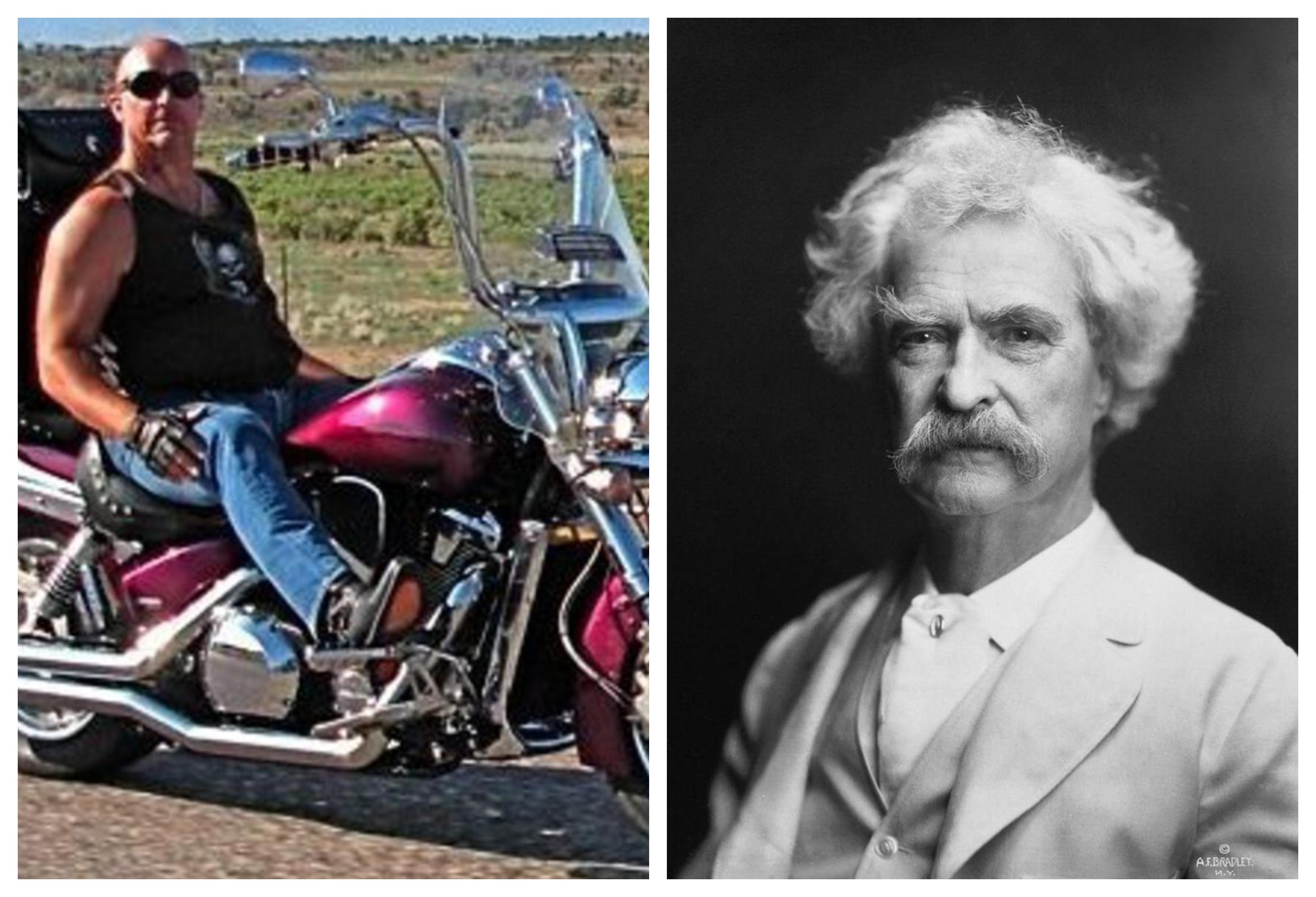 Frank Pastore in Mark Twain (vir Facebook)