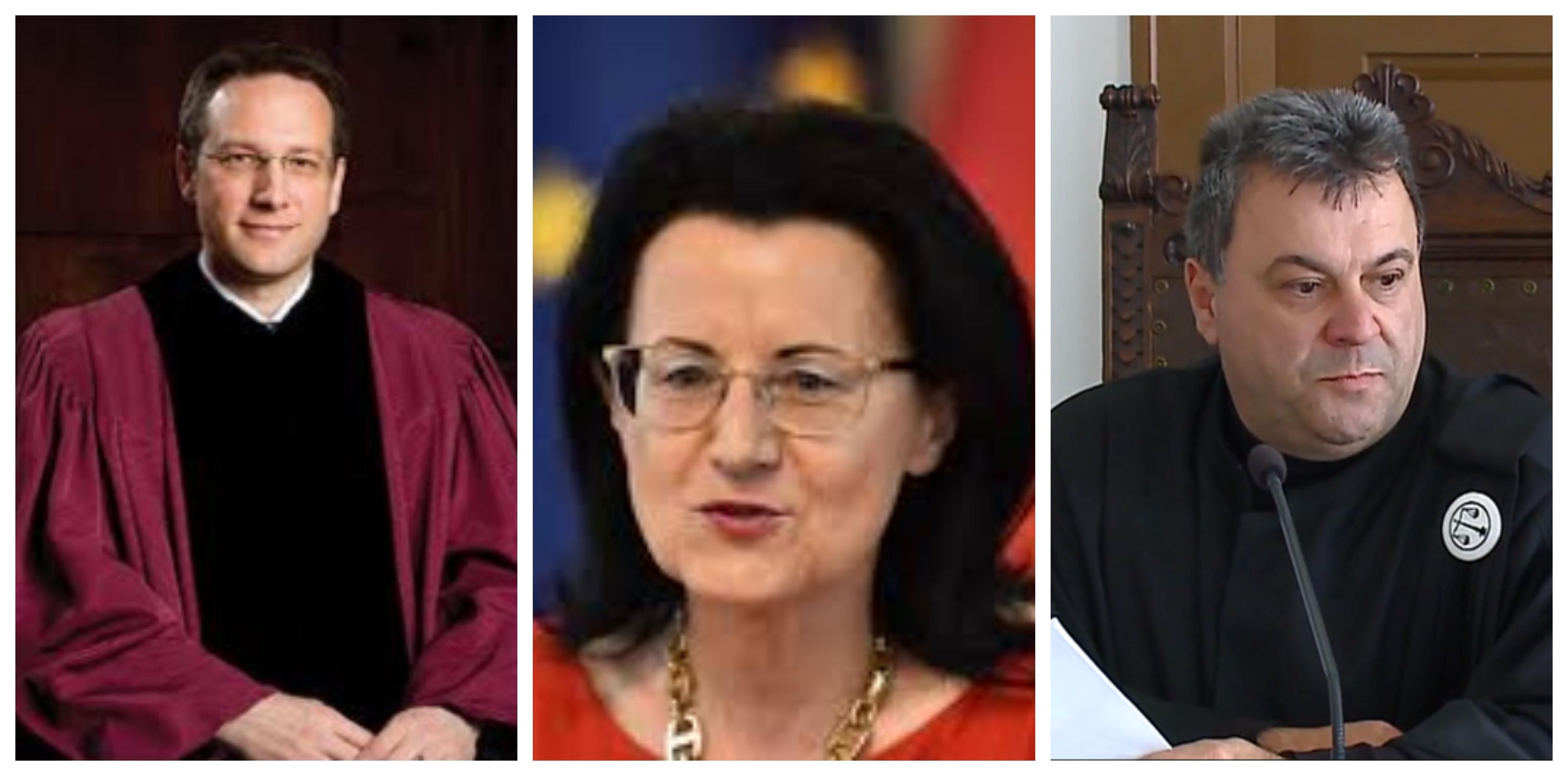Dr. Klemen Jaklič, dr. Verica Trstenjak, Zvjezdan Radonjić. Tri eminentna pravna imena. Ali bodo premagali lažnivega in politično kompromitiranega dr. Rajka Kneza. (vir Nova24tv, STA, Twitter)