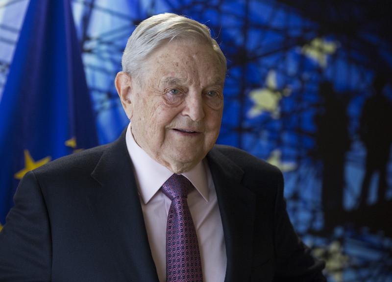 George Soros je ustanovitelj Open Society Fund. V letih 2017 in 2018 je financiral projekte portala Podčrto v skupni vrednosti 77,258 evrov. (Foto: EPA)