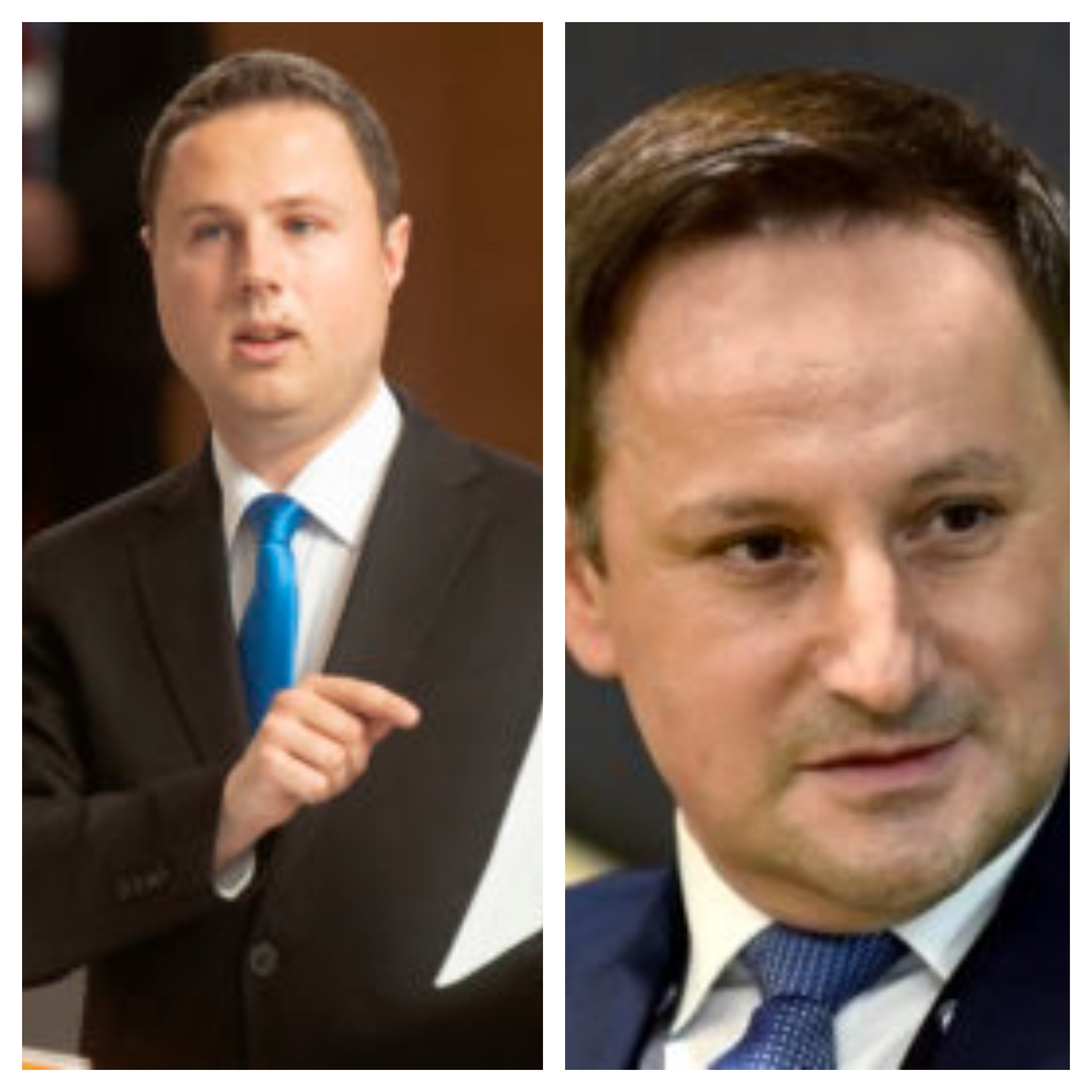 Žan Mahnič in Rajko Kozmelj (vir STA)
