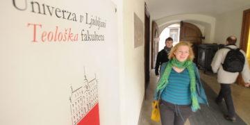Ljubljana. Teoloska fakulteta. (Foto: Tamino Petelinsek/STA)