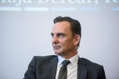 Direktor podjetja Boxmark Leather Marjan Trobiš. (Foto: STA)