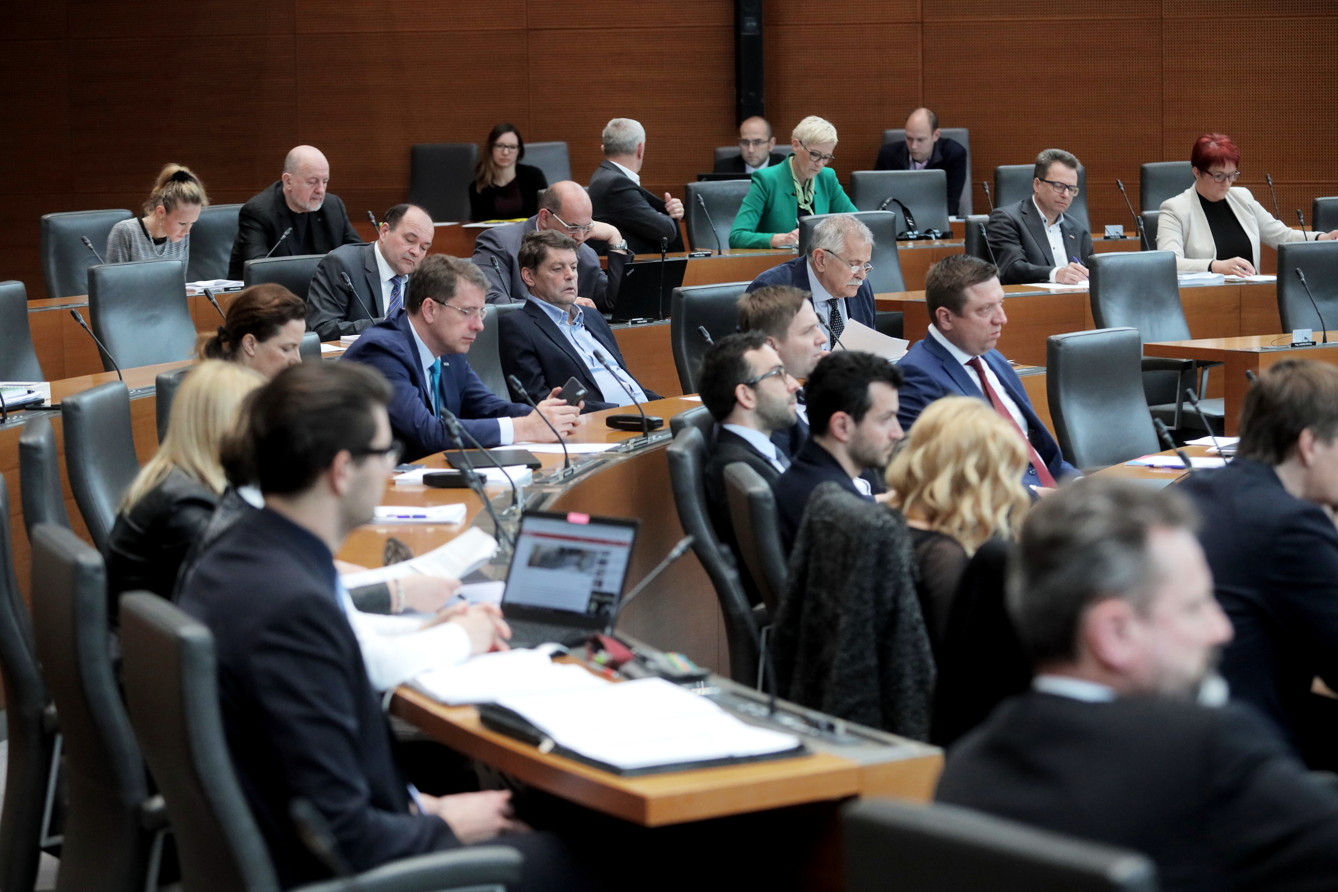 Poslanci Državnega zbora (Foto: STA)