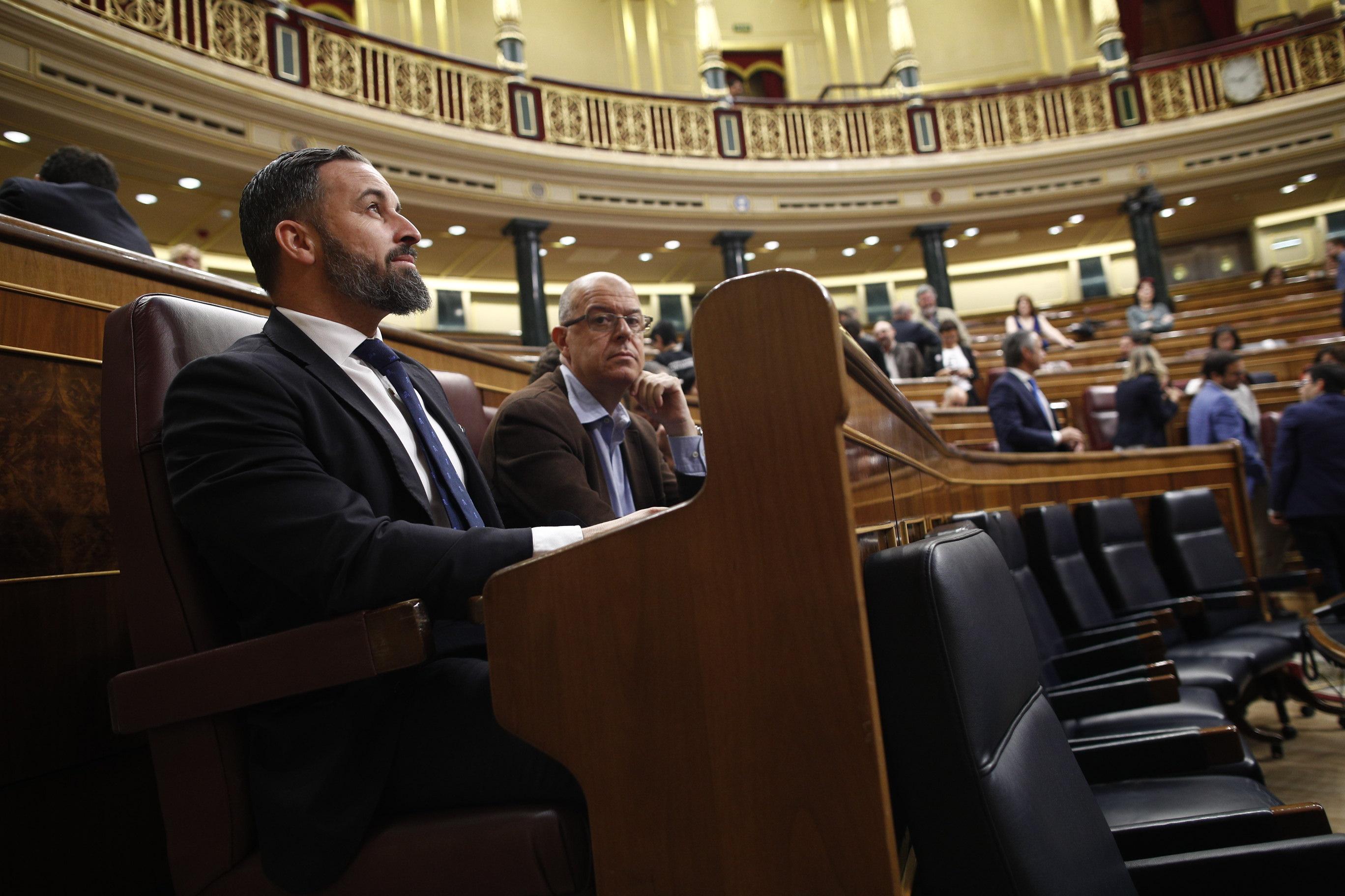 Predsednik domuljubne stranke VOX Santiago Abascal (Foto:STA)
