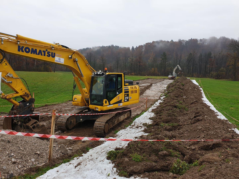 Zoran Jankovič na nezakonit način hoče zgraditi kanal C0 na vodovarstvenem območju. (Foto: bralec Nove24TV)
