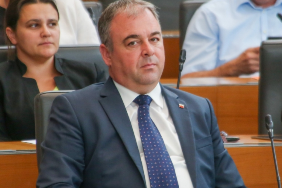 Danijel Krivec, vodja poslanske skupine Slovenske demokratske stranke (Foto: Slovenska demokratska stranka)
