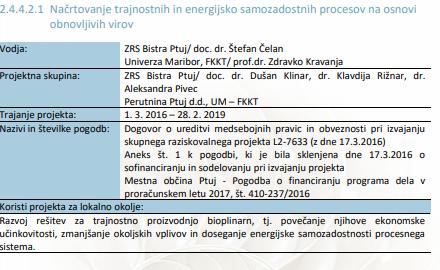 Projekt se je zaključil dne 28.2.2019 v času njenega ministrovanja. (Foto: Ajpes)