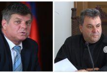 Marjan Pogačnik in Zvjezdan Radonjić (Foto: STA)