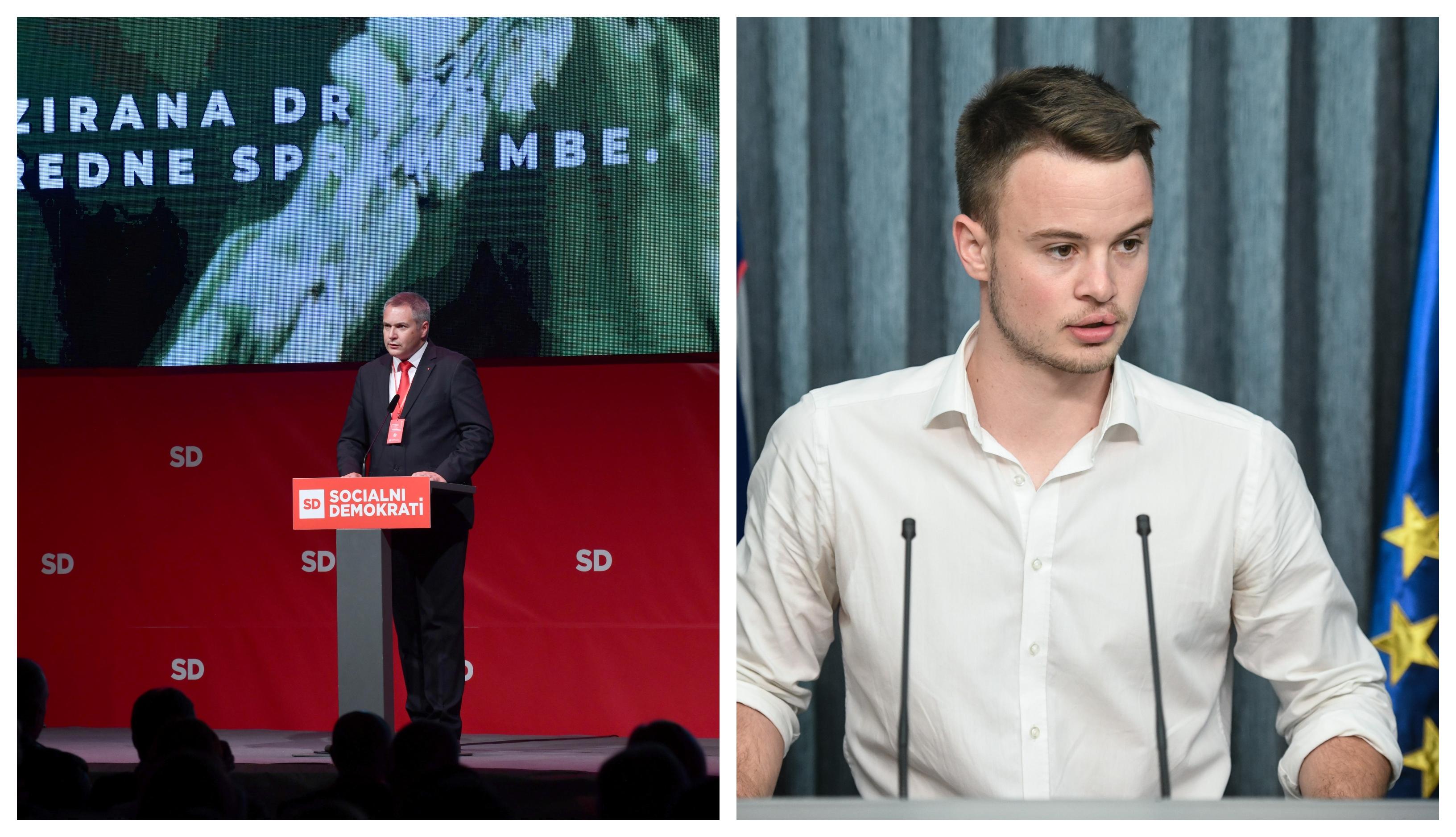 Dejan Židan in Andrej Omerzel (Foto: STA)