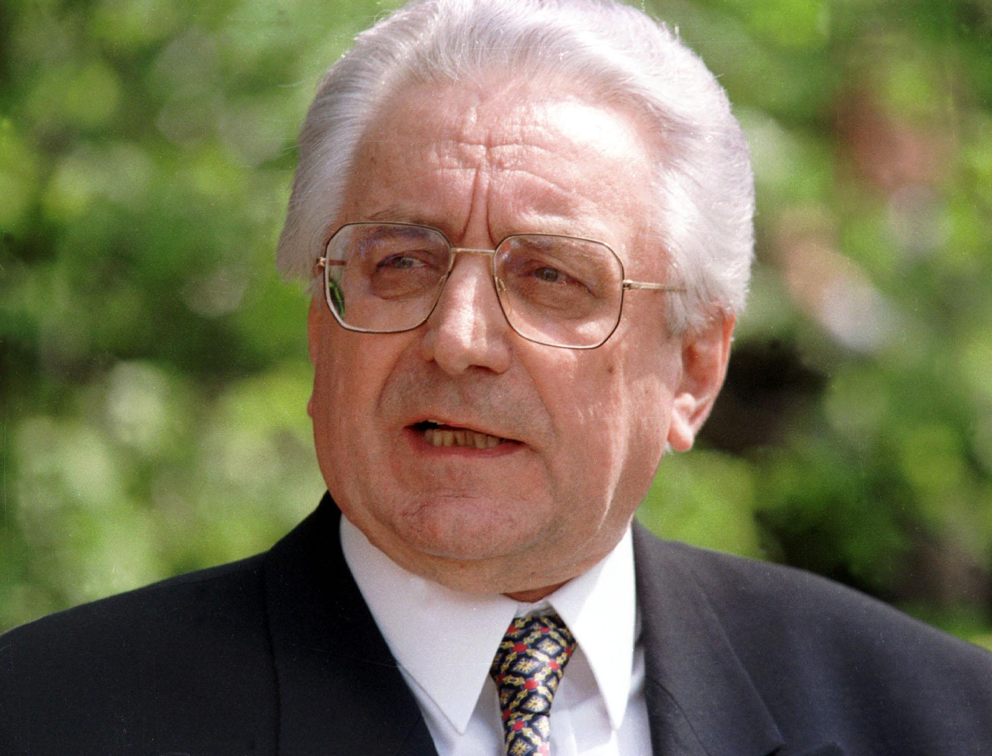Pokojni dolgoletni hrvaški predsednik in osamosvojitelj Franjo Tuđman. (Foto: STA)