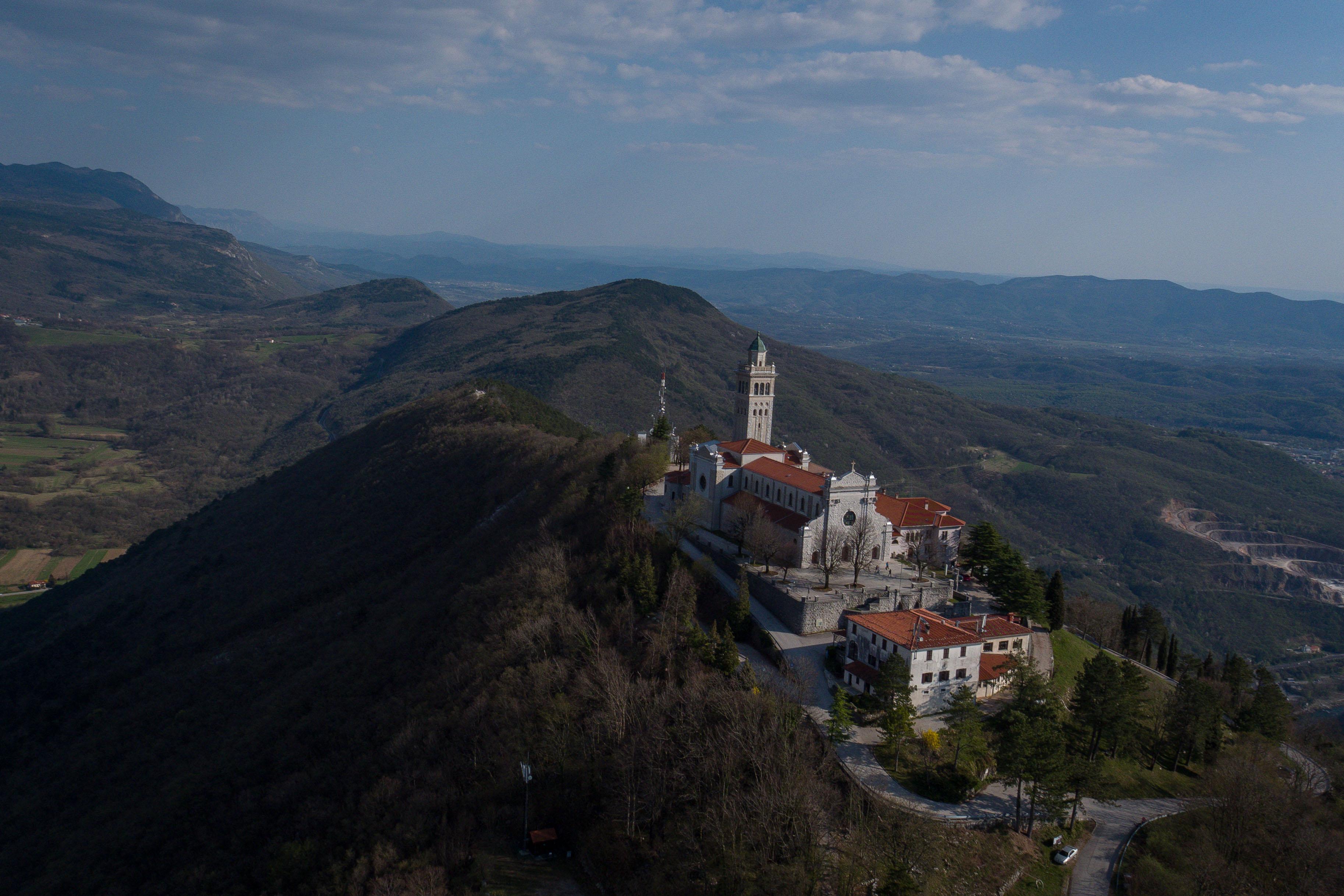 Sveta Gora nad Novo Gorico. (Foto: Facebook)
