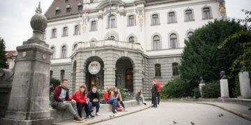 Ljubljanska univerza praznuje 100. obletnico delovanja. (Foto: STA)
