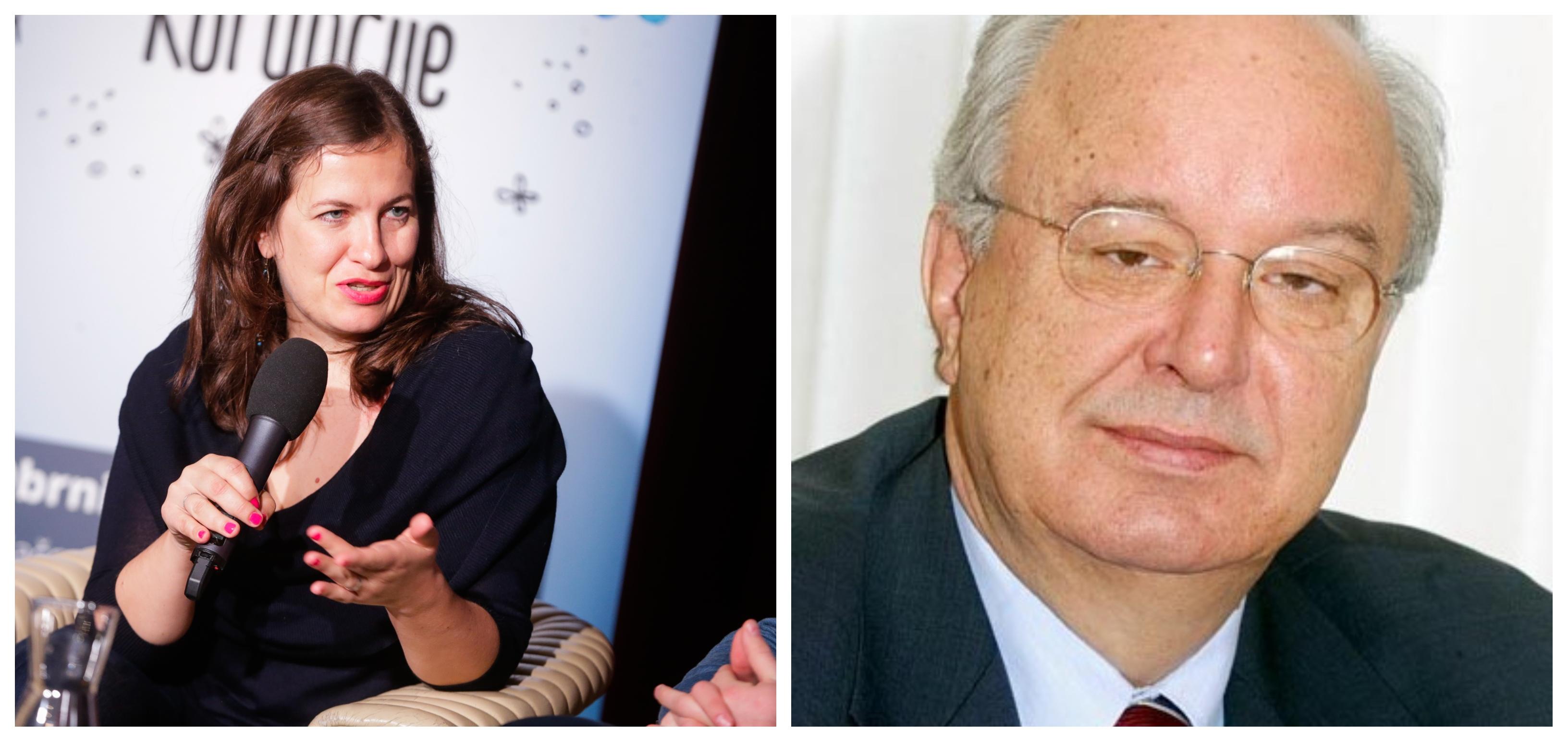 Anuška Delić in Andrej Bajuk (Foto: STA)