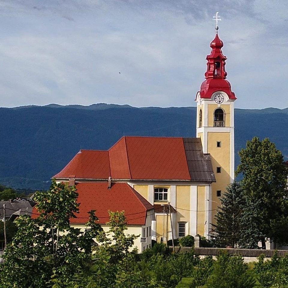 Župnija Begunje na Gorenjskem. (Foto: Facebook)
