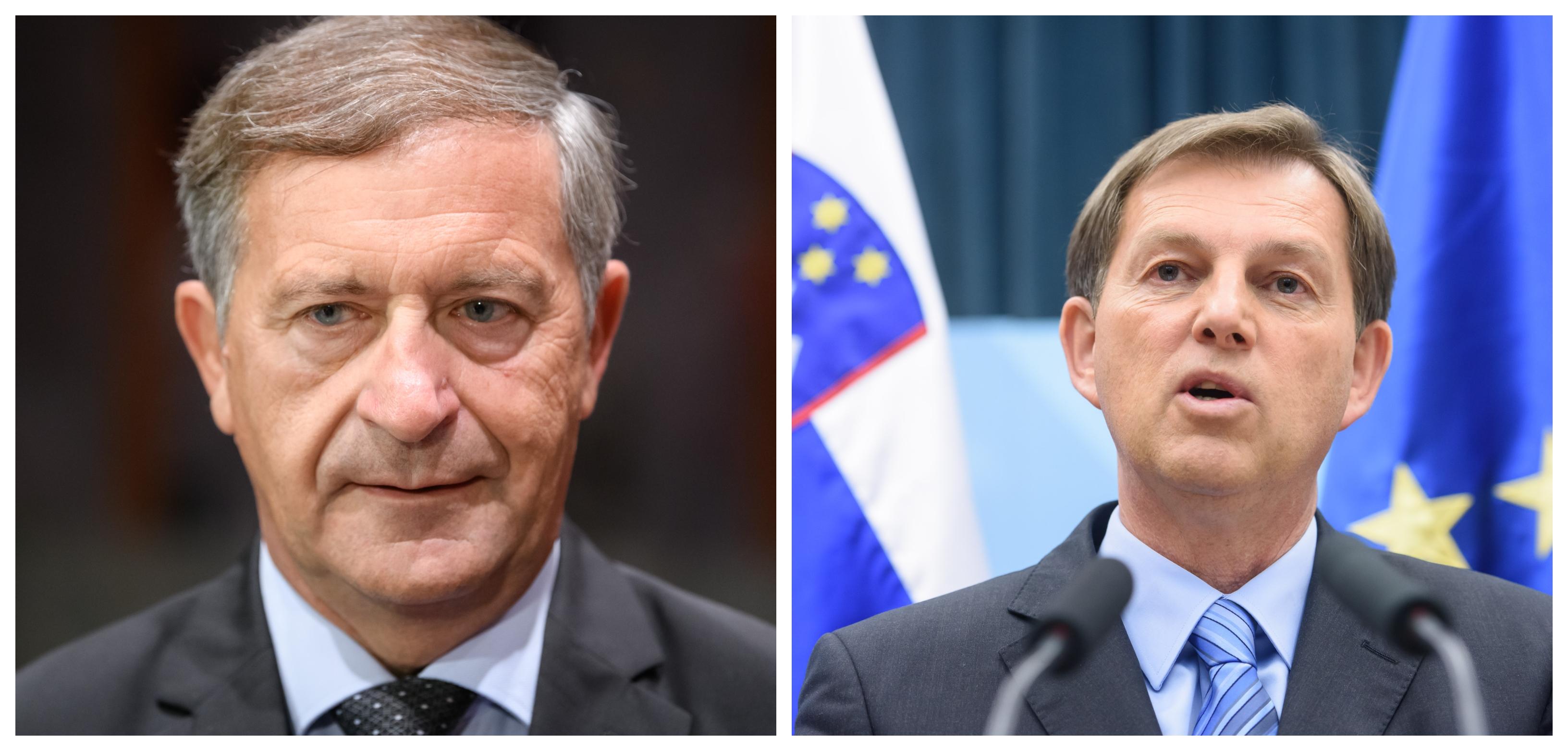 Največja odgovornost za novo evropsko blamažo nosita Karl Erjavec, bivši zunanji minister v Cerarjevi vladi in Miro Cerar, bivši premier in aktualni zunanji minister (Foto: STA)