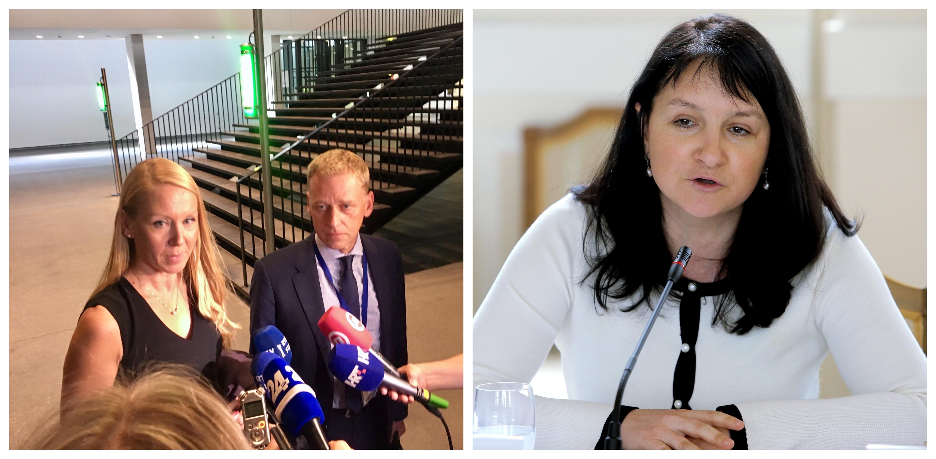 Maja Menard in Janja Hojnik spada v tisto skupino slovenskih pravnikov, ki ne ločita med pravili evropskega in mednarodnega prava. (Foto: STA)