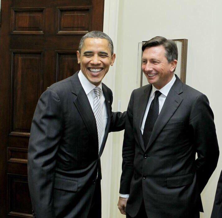 V preteklosti so tajni dokumenti Wikiliksa razkrili, da je Barack Obam pogojeval obisk Boruta Pahorja z določenimi izpolnitvenimi interesi ameriške politike. (Foto: Twitter)