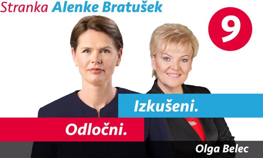 Olga Belec je večna kandidatka na listi Stranki Alenke Bratušek. (Foto: Nova24tv)