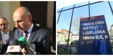 Nove težave za zdravstvenega ministra Aleša Šabedra. Zaradi ne dobave zdravila karboplatin so na Onkološkem inštitutu odpovedali celotno skupino v procesu kemoraterapije. (Foto: STA)