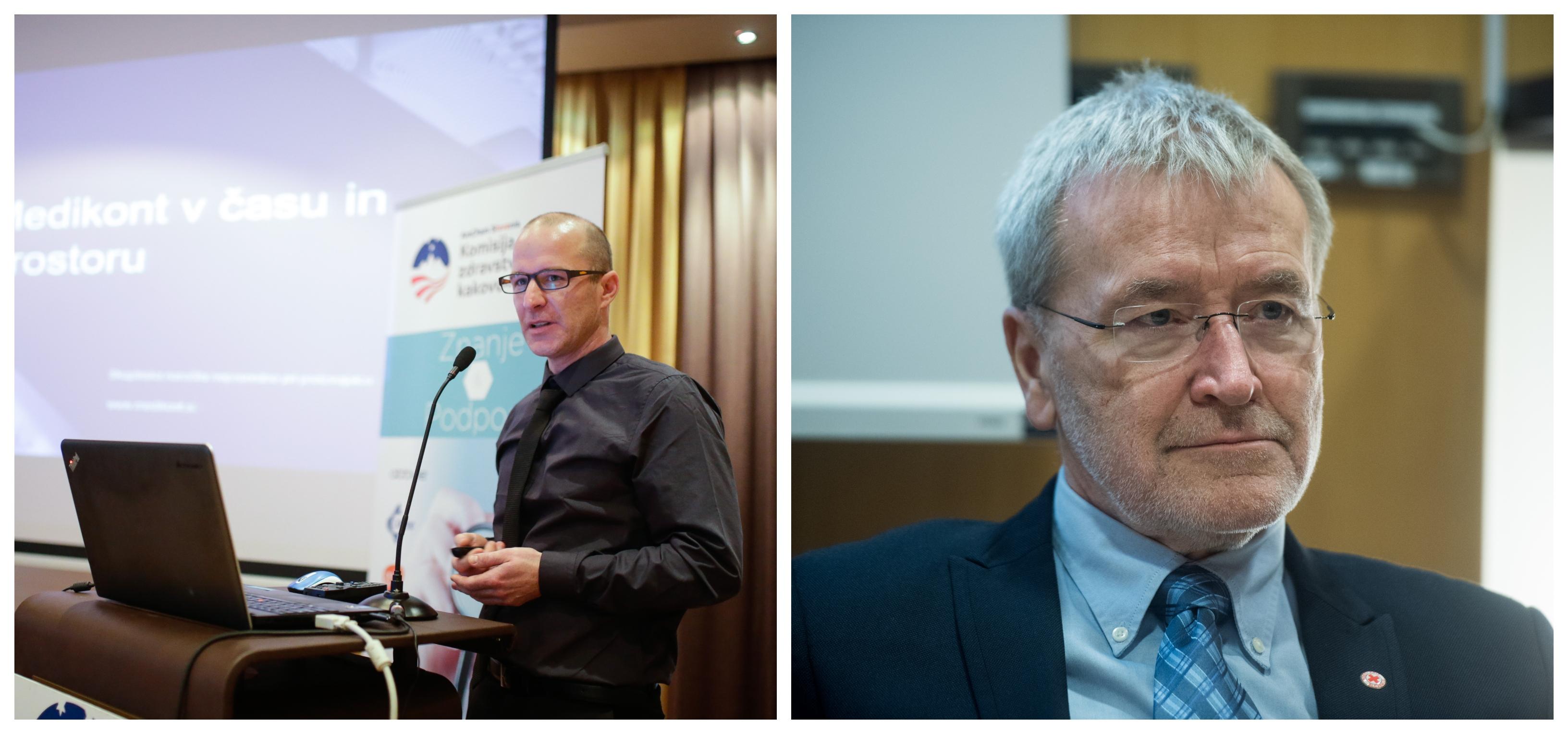 Zobozdravnik Krištof Zevnik se je kritično lotil zdravstvenih zamisli bivšega ministra za zdravje Dušana Kebra (Foto: STA)
