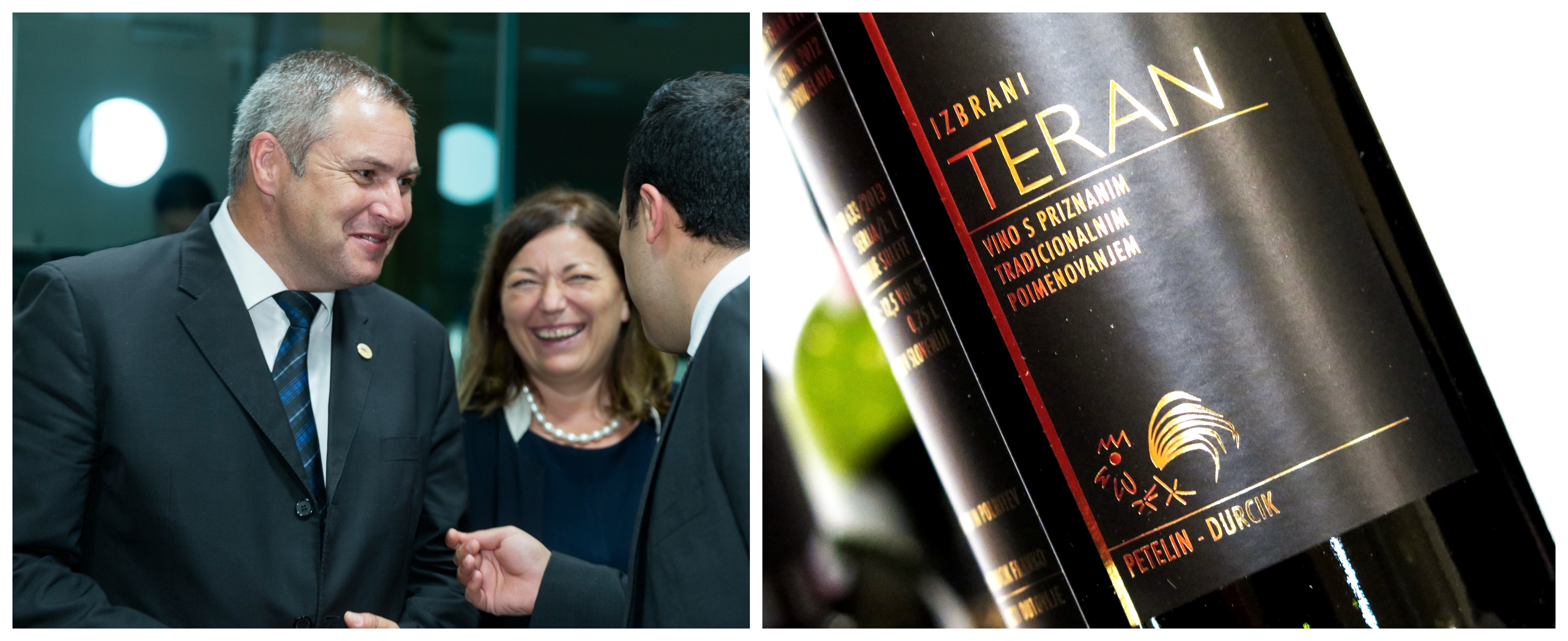 Zaradi neresnosti takratnega kmetijskega ministra Dejana Židana in njegovih uradnikov je Hrvaška dosegla začasno zaščito slovenskega avtohtonega vina teran. (Foto: STA)