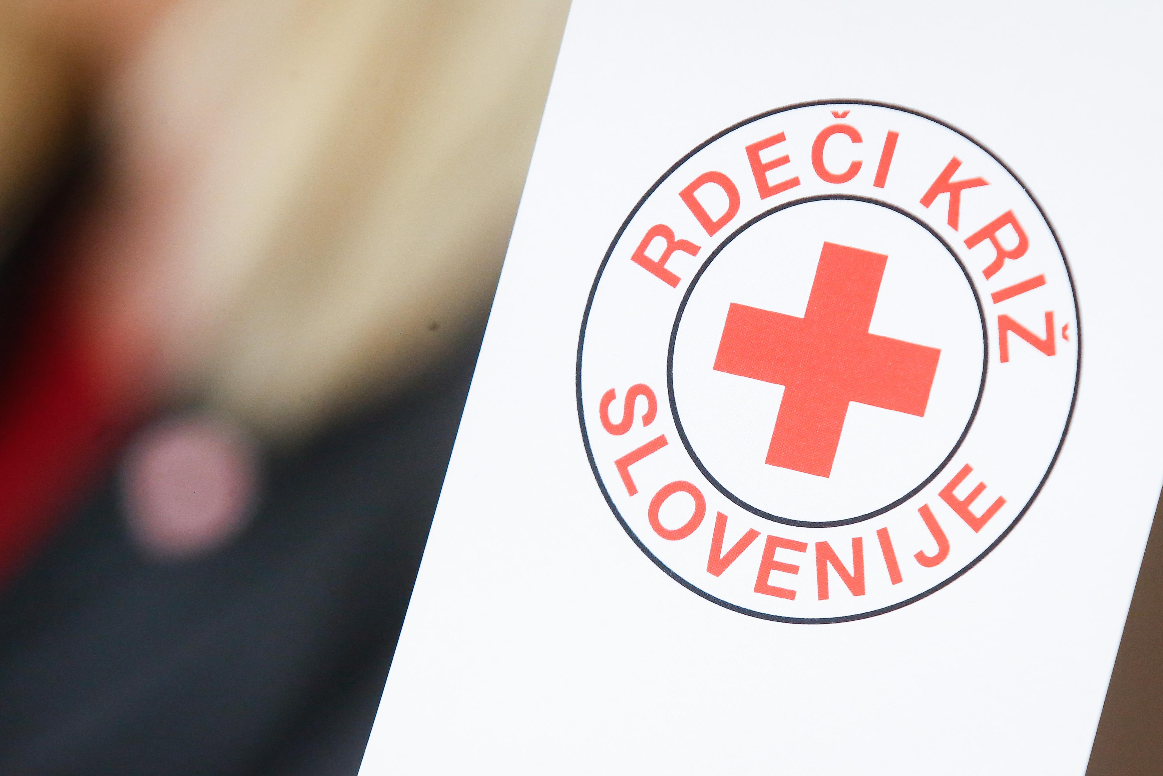 Rdeči križ Slovenije. (Foto: STA)