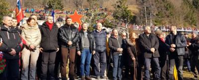 Dejan Židan, Borut Pahor, Alenka Bratušek, Karl Erjavec, Zoran Jankovič in Karel Lipič. (Foto: bralec Nova24tv)
