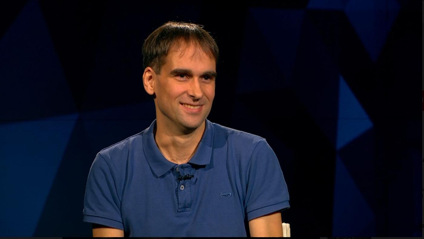 Matjaž Konvalinka. (Foto: video MMC RTV SLO)