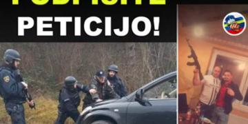 Več kot 1500 državljanov že zahteva , da policija uredi razmere v problematičnem romskem naselju Žabjek. (Foto: Facebook)